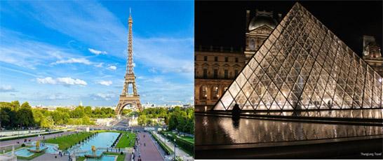 Tour Pháp – Luxembourg – Đức – Hà Lan – Bỉ