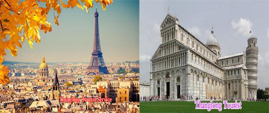 Tour Ba Nước Pháp – Thụy Sĩ – Ý