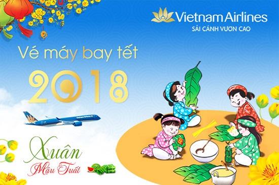 Vietnam Airlines tung vé rẻ 299.000 đồng Chào hè 2018